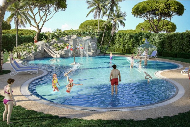 New swimming pool for children Hotel Beverly Park & Spa